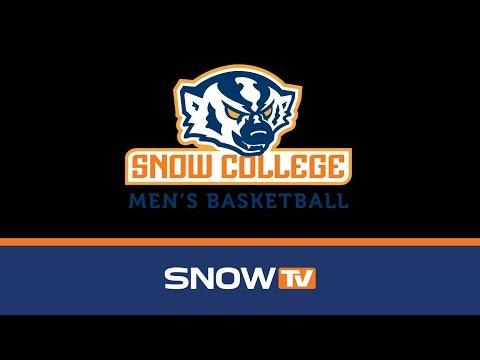 Snow College Mens Basketball vs. New Mexico Junior College 1-3-2019