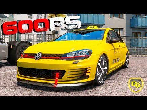 Das 600PS TAXI