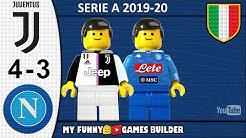 Juventus Napoli 4-3 • LEGO Serie A 2019/20 • Sintesi 31/08/2019 • All Goal Highlights Lego Football