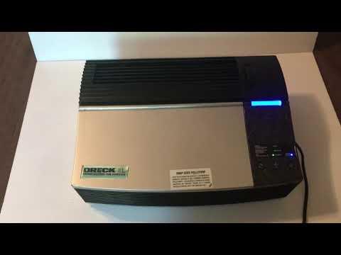 Oreck XL Professional Air Purifier Demo