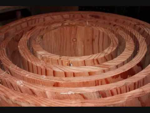 Drums For Sale >> HOLLOW LOG DRUMS! www.hollowlog.com LOG TUNNELS, FURNITURE and MORE! - YouTube