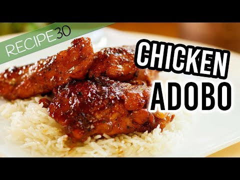 Chicken Adobo Filipino Style Made In One Pot