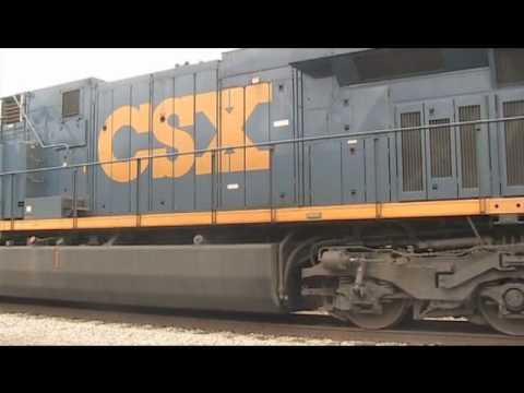 Starting a CSX ES44AC!