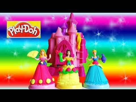 Play Doh Prettiest Princess Castle Unboxing Youtube