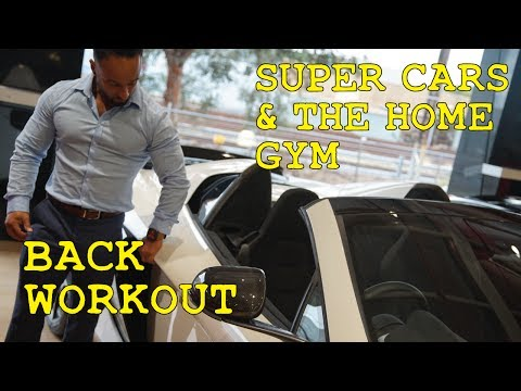 SUPER CARS & THE HOME GYM | BACK WORKOUT | Melbourne Personal Trainer