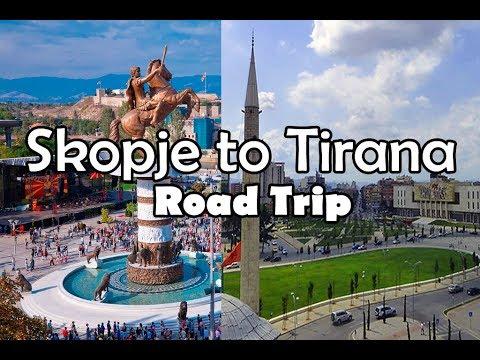 Road Trip: Skopje Macedonia to Tirana Albania by Bus
