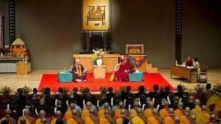 高野山特別法話「ダライ・ラマ法王、青年僧と語る」