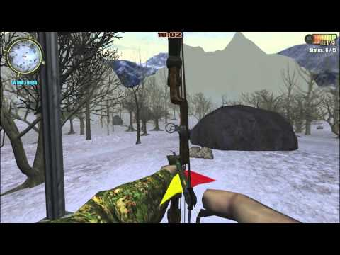 New record: Bow Accuracy 87%!! HUNTING UNLIMITED 2011: How do I use compound bow (3/3) |