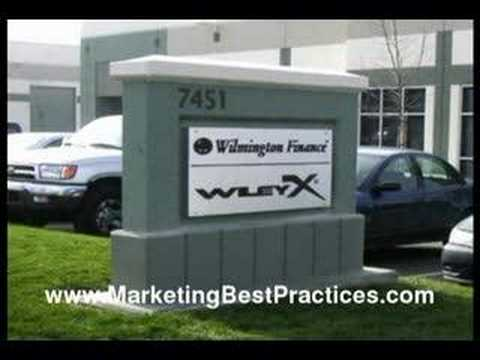 Marketing Ideas - Exterior Signs