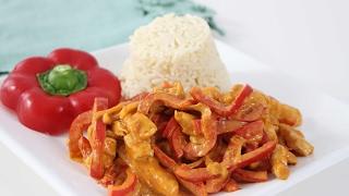 Bestes Paprika-Sahne-Hähnchen Rezept der Welt | #Kochen mit Melodie