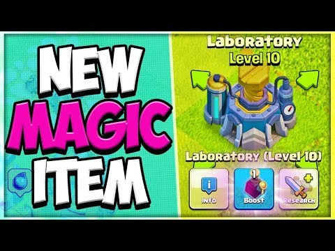 New Magic Item Update And Magic Hammer Cooldown Update | Clash Of Clans