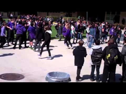 John Muir Middle School Flash Mob March 23, 2012