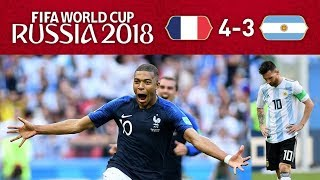 FRANCE 4-3 ARGENTINA - MBAPPE IS THE REAL DEAL!