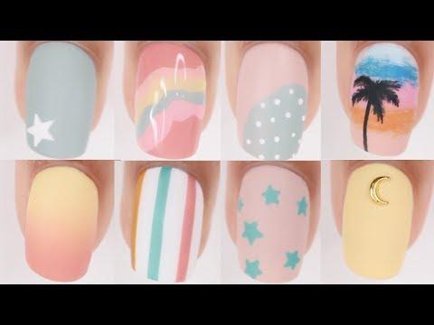 15 EASY Nail Ideas! | Nail Art Compilation