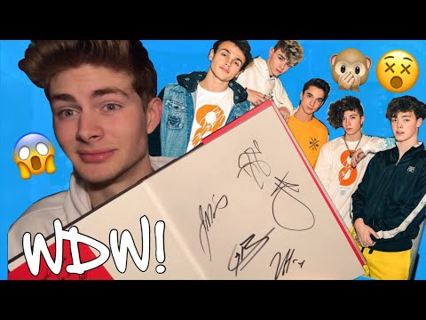 I MET WHY DON'T WE! THEY KNEW WHO I WAS! (STORYTIME)