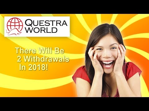 Questra AGAM - There Will Be 2 Withdrawals in 2018!
