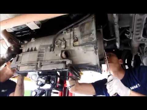 ϟ Solving Mercedes automatic transmission problem in Melaka service center