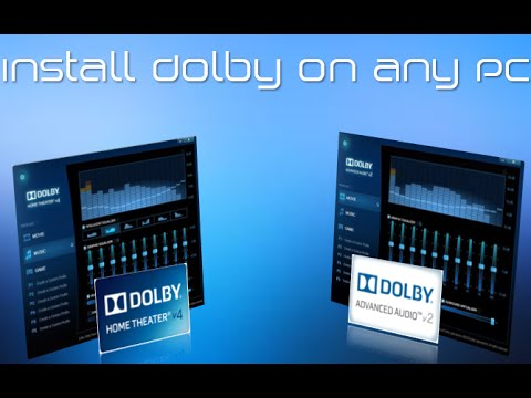 drivers to reinstall Dolby Home Theater® v4 for Windows 10