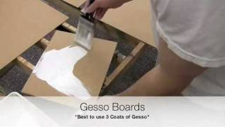 Prepare MDF Panels For Painting With Oils Or Acrylics