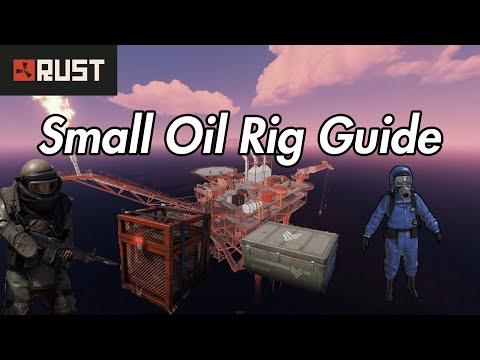 Rust Monument Guide - Small Oil Rig - 2020