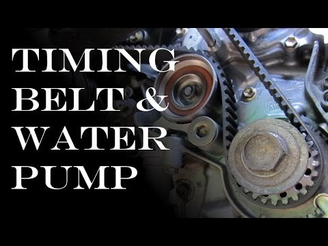 hqdefault timing belt waterpump replacement toyota & lexus v6 youtube