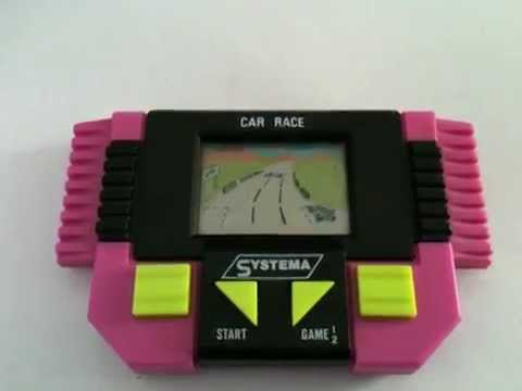 Handheld Race Car Game S