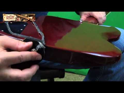 Guitar Straps Types - How To Put On A Guitar Strap With And Without Security Locks