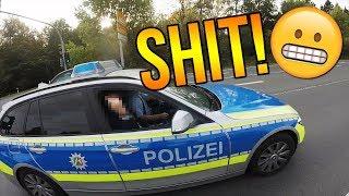 Polizeikontrolle😣 | Wheelie vor der Polizei