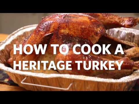 How to Cook a Heritage Turkey with BriarPatch Food Co-op