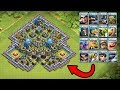 1000 New Troops Clash Royale vs Top Clash of Clans Base! New COC Server