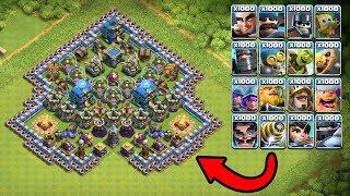 Скачать 1000 New Troops Clash Royale Vs Top Clash Of Clans Base New COC Server