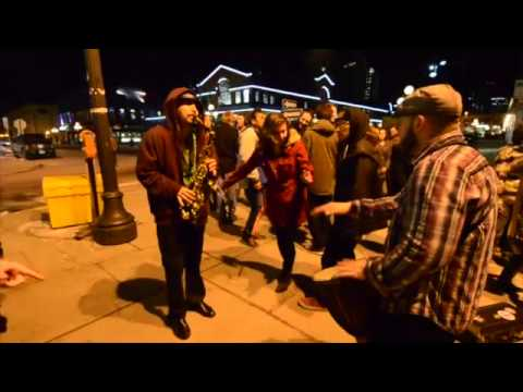 Lets Have Sax - Street Jam - Street Party - Live Music Downtown Ottawa