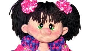 Амигуруми: схема куклы Ириска. Игрушки вязаные крючком! Free crochet patterns.
