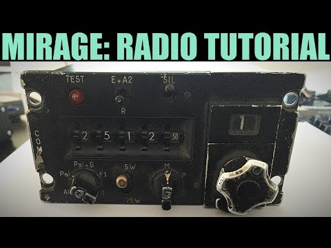 Mirage 2000C: Radios Tutorial | DCS WORLD