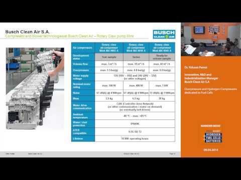 Overpressure and Hydrogen Compressors dedicated to Fuel Cells