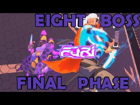Furi ►Eight Boss ( Sniper ) EPIC FINAL PHASE