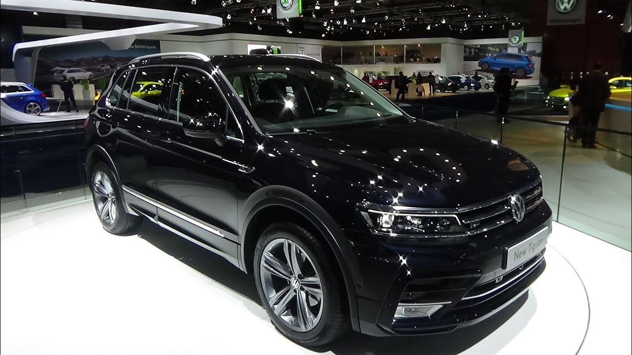 2016 volkswagen tiguan auto show brussels 2016 youtube. Black Bedroom Furniture Sets. Home Design Ideas