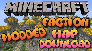 Minecraft: Modded Factions Server Map Download (Xbox 360/One/PS3/PS4/Wii U/Pocket Edition)