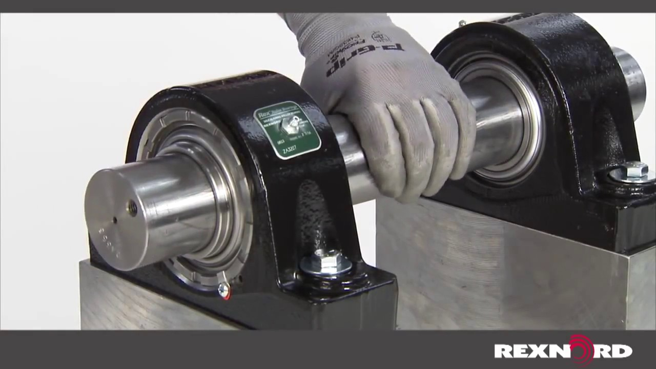 How to install an eccentric cam lock bearing youtube