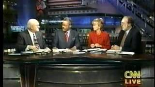 1996 US Election Coverage CNN Part 1