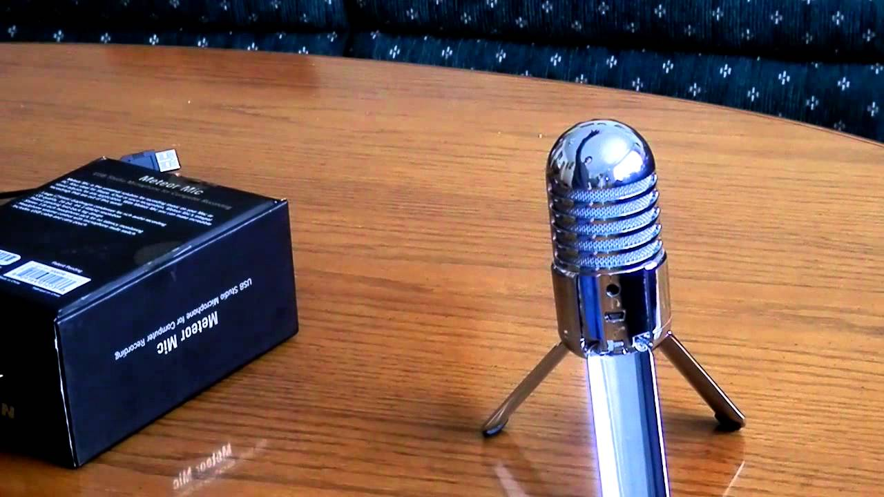 samson meteor mic review youtube. Black Bedroom Furniture Sets. Home Design Ideas