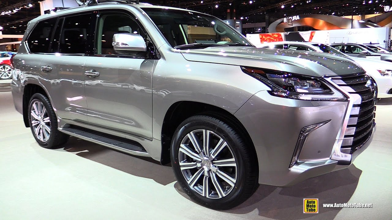 2016 lexus lx570 exterior and interior walkaround 2016 chicago auto show youtube. Black Bedroom Furniture Sets. Home Design Ideas