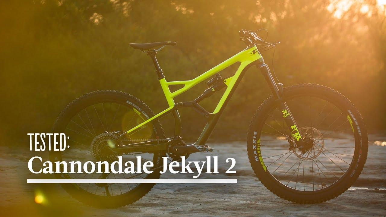 ba38908e41e Tested: Cannondale Jekyll 2, 2017 - YouTube