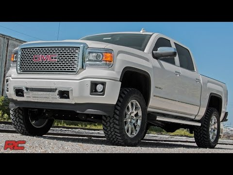 2015 GMC Sierra 1500 Denali (White) Vehicle Profile