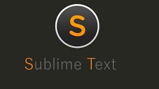 видео Sublime Text 3: установка и настройка для работы с D