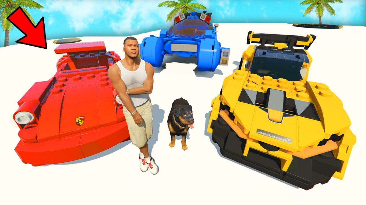 Collecting Trillionaire LEGO SUPERCARS in GTA 5!