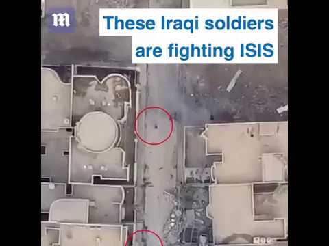 Iraqi soldier sacrifices himself to save troops