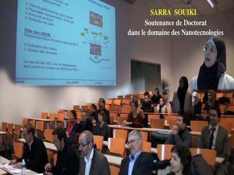 Sarra SOUIKI: Soutenance de Doctorat