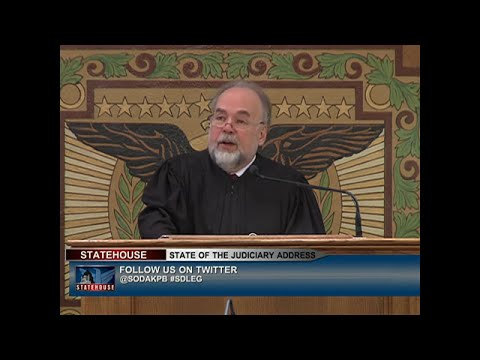2015 South Dakota State of the Judiciary