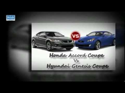 Honda Accord Coupe vs. Hyundai Genesis Coupe - West Covina CA